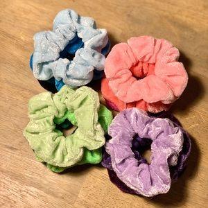 Multi-Color Set of 3 Scrunchies